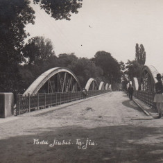 ROMANIA OLTENIA TARGU- JIU PODU JIULUI, FOTO AGFA - Carte Postala Oltenia dupa 1918, Necirculata, Fotografie