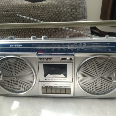 Radiocasetofon vintage SHARP GF-5454, boombox, stare excelenta.