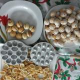 Forma de nuca presa de prajituri nuci cu 16 prajituri