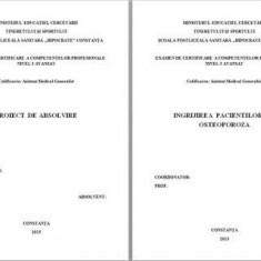 LUCRARE DE LICENTA AMG INGRIJIREA PACIENTULUI CU OSTEOPOROZA (1) (+ prezentate )