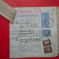 HOPCT DOCUMENT VECHI 4 /FOAIE DE EXPEDITIE POSTALA-TIMBRE FISCALE FERDINAND 1932 - Pasaport/Document, Romania 1900 - 1950