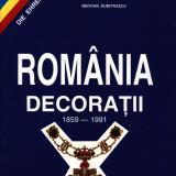 Carte Romania-decoratii N Serbanescu Catone
