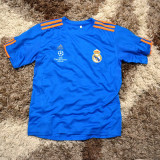 Tricou Adidas REAL MADRID masura XS si S - Tricou barbati Adidas, Marime: S, Culoare: Albastru