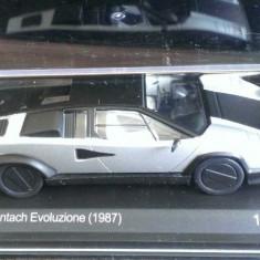Macheta metal - Lamborghini Countach Evoluzione 1987 - NOUA, Whitebox 1:43 - Macheta auto