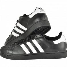 Adidasi Adidas Superstar Barbati Negru - Adidasi barbati, Marime: 36, 37, 38, 39, 40, 41, 42, 43, 44, Culoare: Alb, Piele sintetica