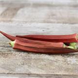 Seminte de Bame rosii 20 seminte rare