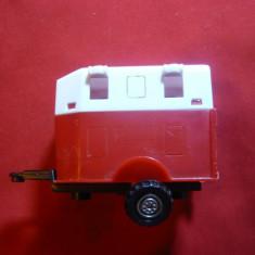 Jucarie Remorca Auto pt.transport cai, plastic, L= 6cm - Masinuta