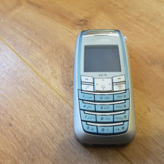 Siemens AX75 - 49 lei - Telefon mobil Siemens, Bleu, Nu se aplica, Neblocat, Fara procesor