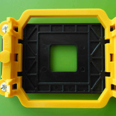 Soclu procesor socket AM2 AM2+ AM3 AM3+ cu backplate - NOU - Protectie PC