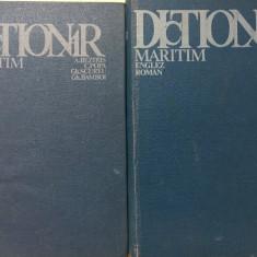 DICTIONAR MARITIM ENGLEZ-ROMAN SI ROMAN-ENGLEZ - Beziris, Popa, Scurtu (2 vol)