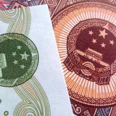 Lot/Set Bancnote CHINA: 5 Jiao+ 1 Yuan - necirculate!!! cod 240 - bancnota asia