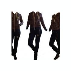 Trening LOUIS VUITTON dama model NOU 2017 - Trening dama, Marime: S, M, L, XL, XXL, Culoare: Bleumarin, Negru, Bumbac