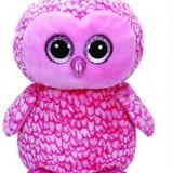 Jucarie De Plus Ty Beanie Boo Pinky The Owl Large Boo 40Cm - Jucarii plus
