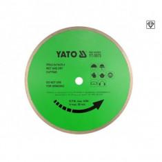 Disc cu Diamant pentru Ceramica Yato 300X25, 4MM YT-5974 - Muzica pentru copii
