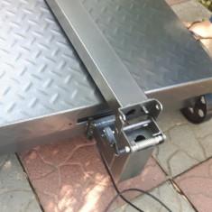 Cantar electronic cu platforma groasa de 60 x 80cm - 1000kg - Cantar/Balanta