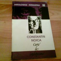 CARTE DE INTELEPCIUNE -- CONSTANTIN NOICA