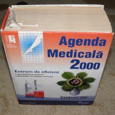 Carte Agenda Medicala 2000, dictionarul medicamentelor de 2128 pagini