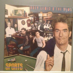 HUEY LEWIS AND THE NEWS - SPORTS(1983/CHRYSALIS/RFG) - Vinil/Vinyl/Impecabil(NM) - Muzica Pop ariola