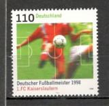 Germania.1998 1. FC Kaiserslautern-campioana nationala la fotbal  SG.964