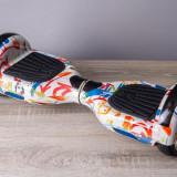 Oferta hoverboard 6.5 hip hop cu bluetooth si lumini aripi