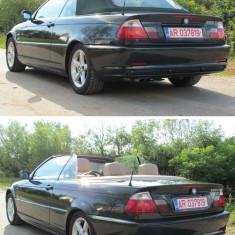 BMW E46 325i Cabrio, 2.5i, an 2002, Benzina, 160000 km, 2498 cmc, Seria 3