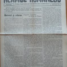 7 ziare Neamul Romanesc, Director Nicolae Iorga, 1914 - 1915