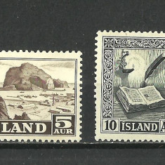 ISLANDA --1953-1954 MNH - Timbre straine, Nestampilat