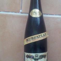 MURFATLAR - PINOT GRIS 1964 - VIN DE COLECTIE, Aroma: Demi-dulce, Sortiment: Roze, Zona: Romania 1950 - 1970