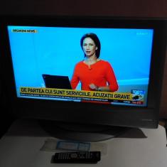 TV LCD 26 INCH JVC LT-26A61SU + TELECOMANDA NOUA - Televizor LCD JVC, 66 cm, HD Ready, Intrare RF: 1, Scart: 1, DVI: 1