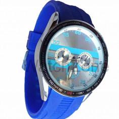 Ceas Barbatesc McLaren Precision Cronograph Albastru - Ceas unisex, Inox, Silicon