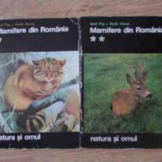 Mamifere Din Romania Vol.1-2 Natura Si Omul - Ionel Pop, Vasile Homei, 391981 - Carti Agronomie