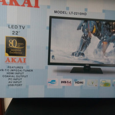 Tv led Akai - Televizor LED Akai, 61 cm, Full HD