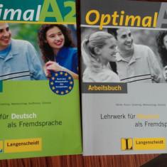 Set OPTIMAL A2 limba germană - Curs Limba Germana Altele