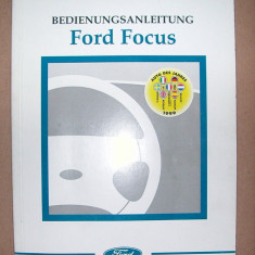 Manual utilizare ford focus - Manual auto