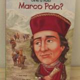 CINE A FOST MARCO POLO ? -JOAN HOLUB