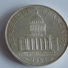 Moneda argint 100 franci 1983- Franta -964, Europa