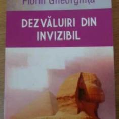 Dezvaluiri Din Invizibil - Florin Gheorghita, 392111 - Carti Budism