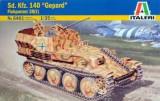 """+ Macheta 1/35 Italeri 6461 - Sd.Kfz. 140 """"Gepard"""" Flakpanzer 38(t) +"""