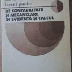 Lucrari Practice De Contabilitate Si Mecanizare In Evidenta S - Nicolae Patea, Anton Bartha, Virgil Carbunescu, 392042 - Carte Marketing