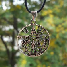 Pandantiv talisman Tetragramaton - argint - Pandantiv fashion