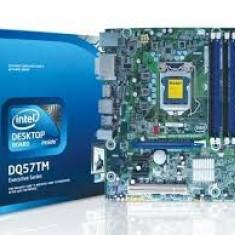 Kit placa de baza noua Intel DQ57TM cu procesor I3, 265 lei, garantie 6 luni, Pentru INTEL, Socket: 1156, DDR 3, Contine procesor, MicroATX