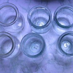 Un lot de 6 ventuze medicale antice sticla medicinale noi - Echipament cabinet stomatologic