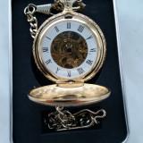 Ceas de buzunar Doxa mecanic suflat in aur