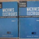 Machines Electriques Vol.1-2 - M. Kostenko, L. Piotrovski, 392070 - Carti Electrotehnica