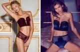 Victoria's Secret set lenjerie sexy catifea S si M