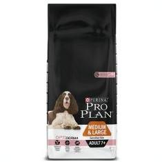 Purina PRO PLAN ADULT 7+ Medium & Large Sensitive Skin - 14kg - Hrana caine