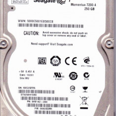 HDD 7200 RPM SATA2 Laptop 250gb Seagate Momentus 7200.4 ST9250410AS 16MB Buffer, 200-299 GB