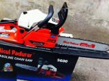 Drujba pe benzina Micul Padurar 5200 2.86CP 2.1KW rpm 8000 cu lama de 32, Termic, 1300-1900, 25-35