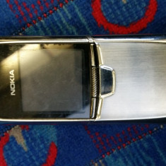 Nokia 8800 Sirocco - Telefon mobil Nokia 8800 Sirocco, Argintiu