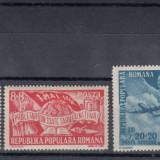 ROMANIA 1948, LP 233, 1 MAI - ZIUA MUNCII SERIE MNH - Timbre Romania, Nestampilat